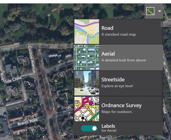 bing-maps - Nicht mehr Vogelperspektive in Bing Maps V8-API?